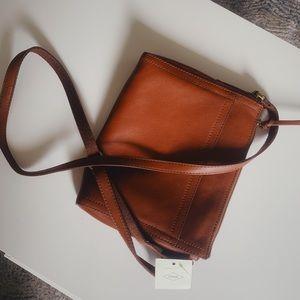 🔥 NEW 🔥 Fossil Emma crossbody medium brown bag